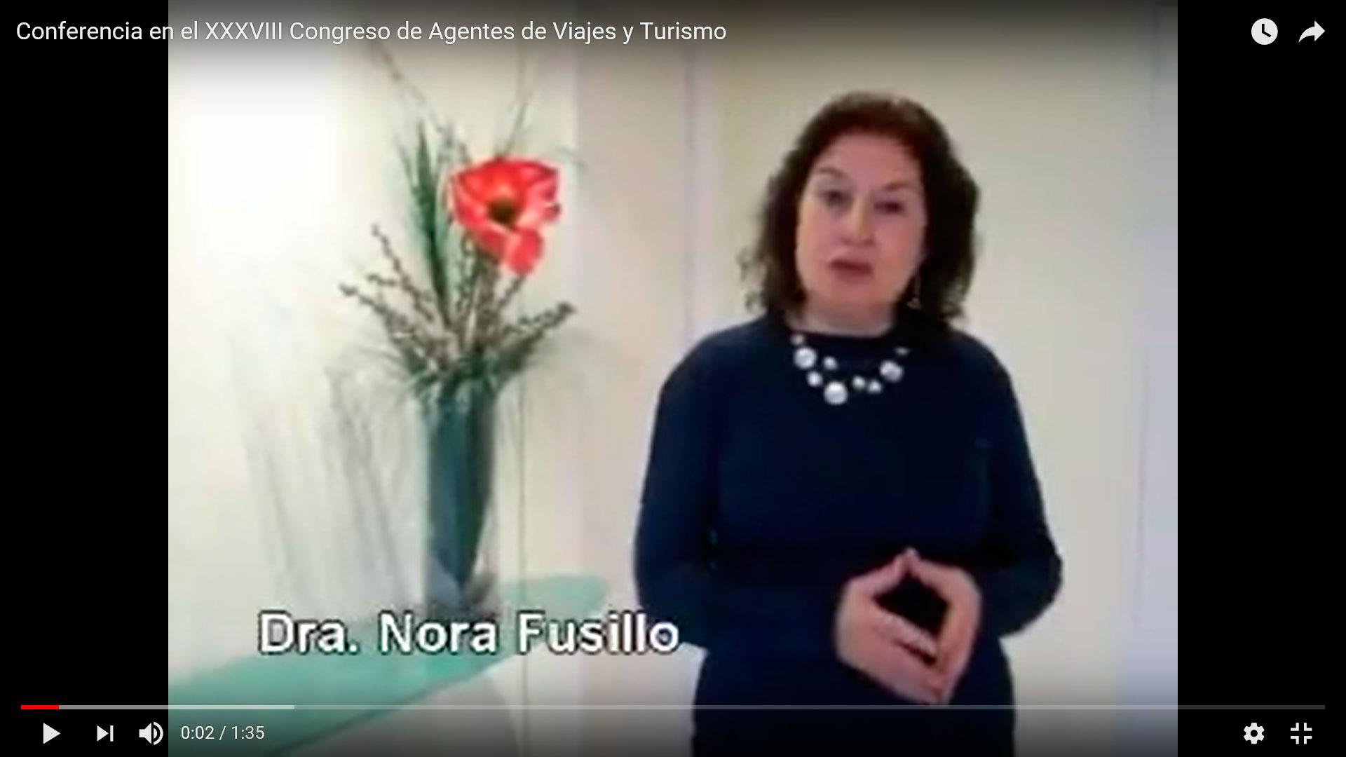 Conferencia en el XXXVIII Congreso de Agentes de Viajes y Turismo, Salta