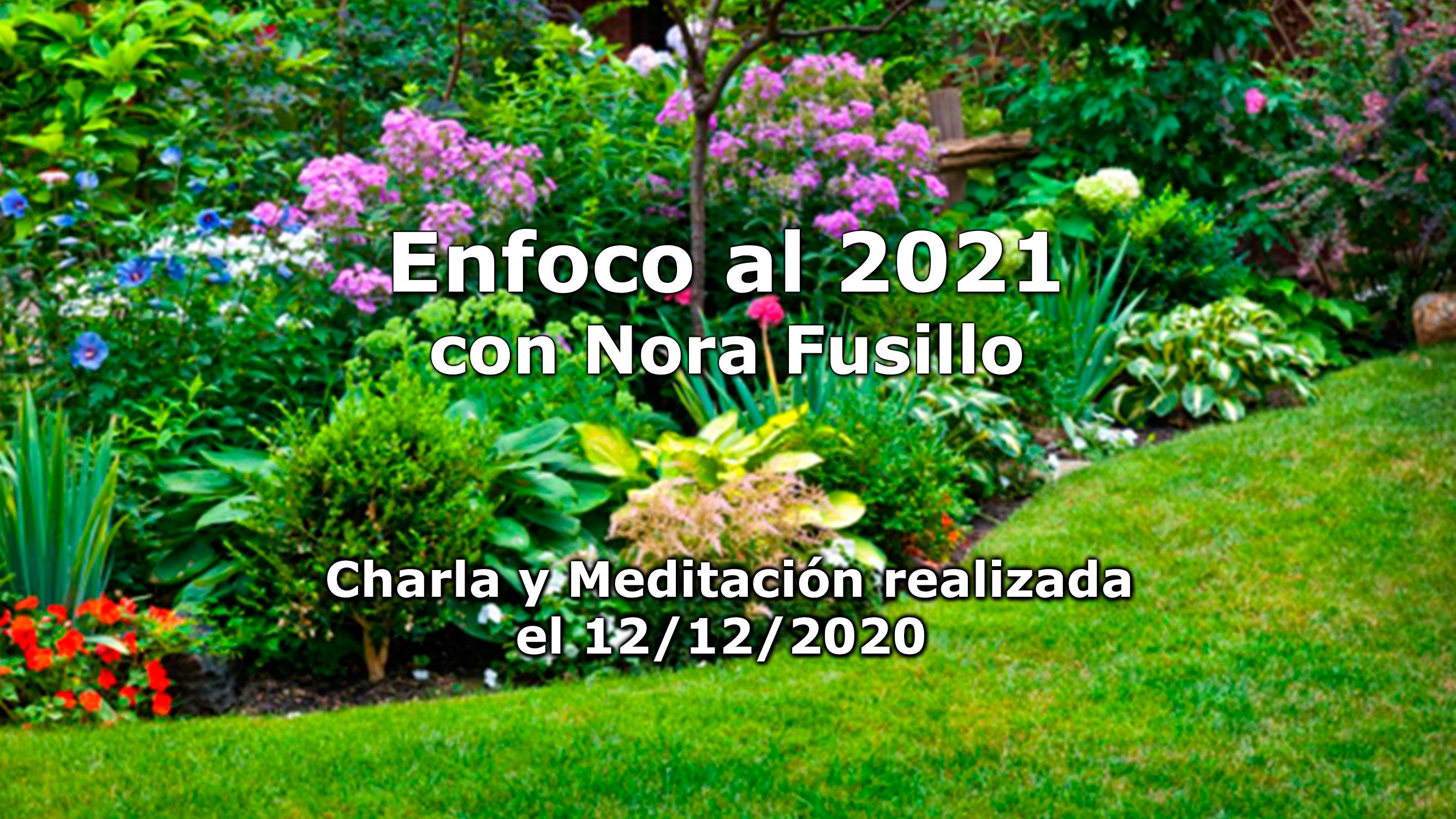 ENFOCO 2021: Charla y meditación
